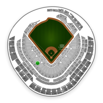 Miami Marlins at Marlins Park Section 20 View
