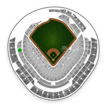 Miami Marlins at Marlins Park Section 226 View
