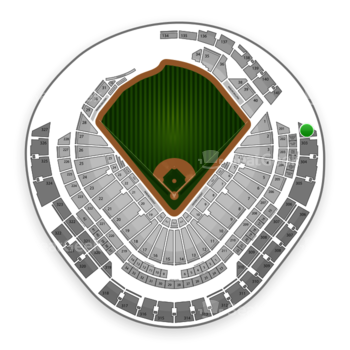 Miami Marlins at Marlins Park Section 302 View
