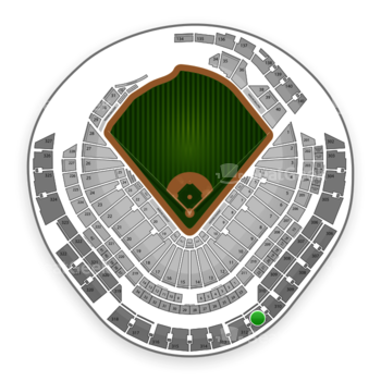 Miami Marlins at Marlins Park Section 311 View