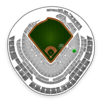 Miami Marlins at Marlins Park Section 5 View