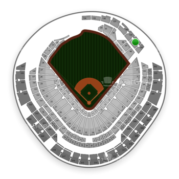 Miami Marlins at Marlins Park Section 140 View