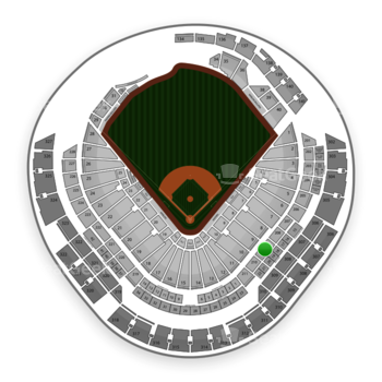 Miami Marlins at Marlins Park Section 209 View