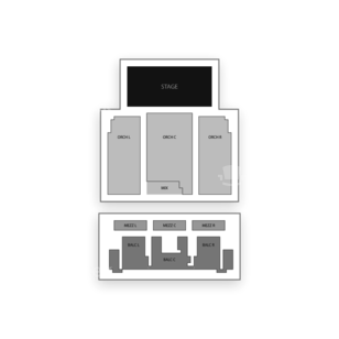 Danforth Music Hall Seating Chart Theater