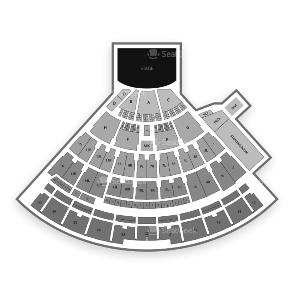 Northwell Health at Jones Beach Theater Seating Chart Concert