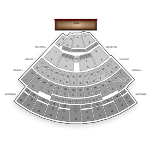 Nikon at Jones Beach Theater Seating Chart Music Festival