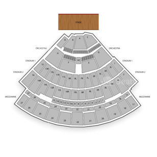Nikon at Jones Beach Theater Seating Chart Comedy