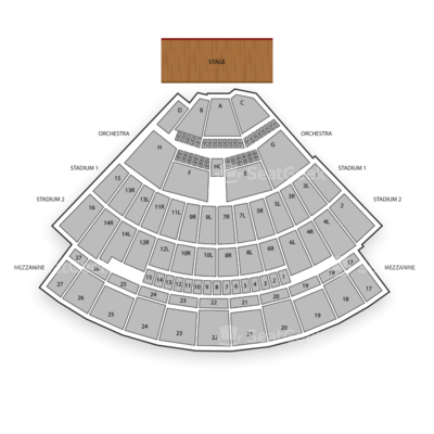Neil Young Boots Seating Chart Neil Young