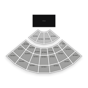LB Day Amphitheatre Seating Chart Classical