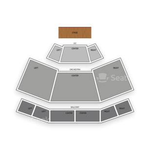 IP Casino Resort and Spa Seating Chart MMA