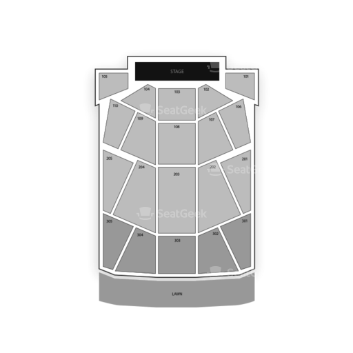 Pier Six Concert Pavilion Seating Chart Seatgeek