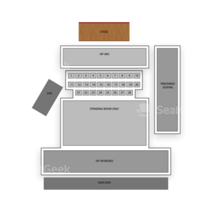 Whitewater Amphitheater Seating Chart Concert