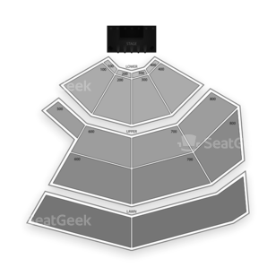 Chene Park Seating Chart Theater