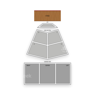 North Charleston Performing Arts Center Seating Chart Theater