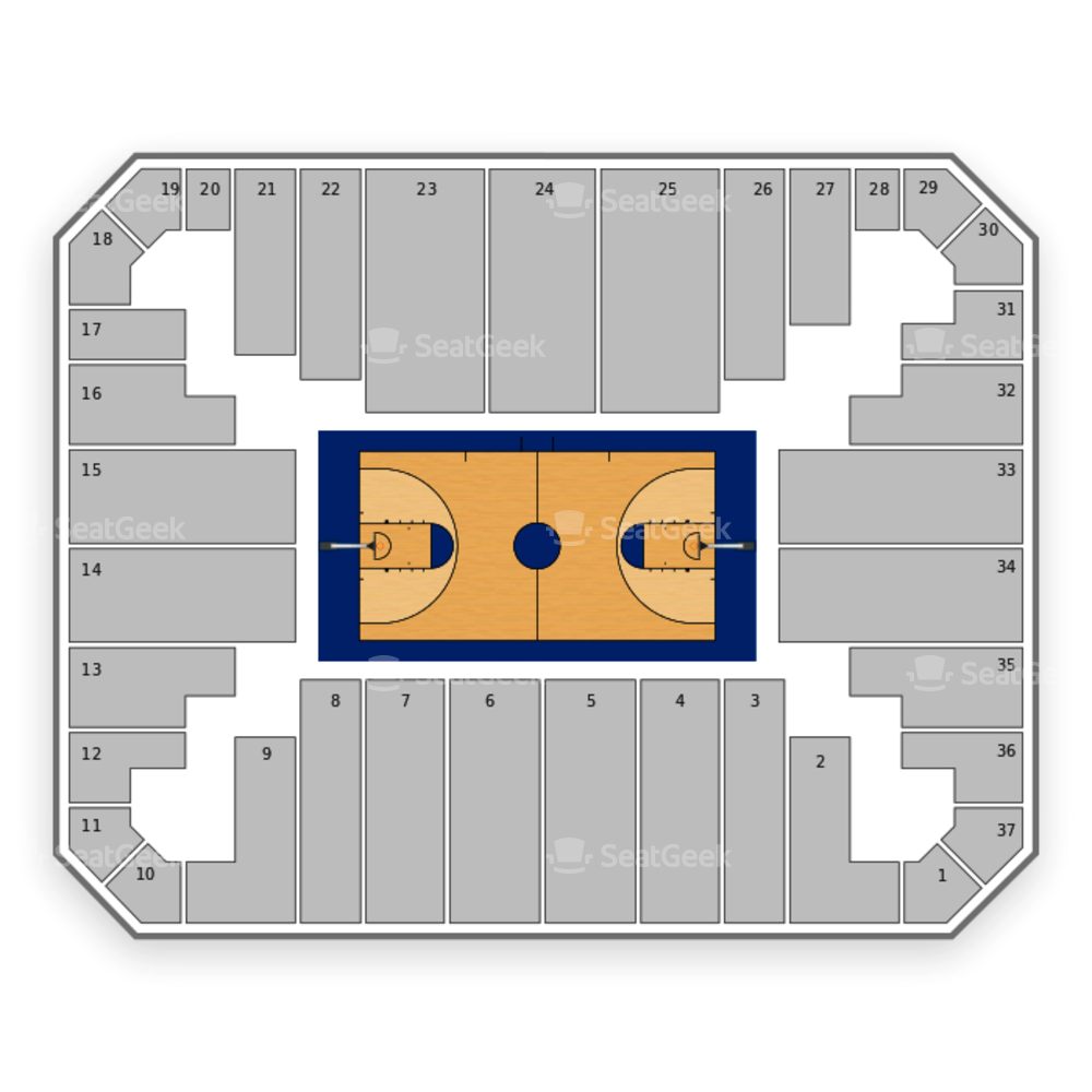 VCU Rams Basketball Seating Chart