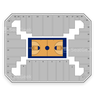 Virginia Commonwealth Rams Basketball Seating Chart
