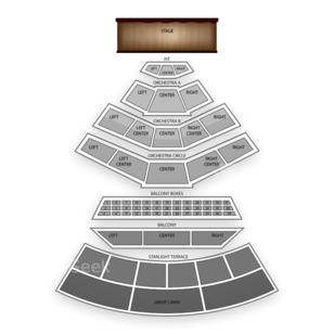 Mann Center for the Performing Arts Seating Chart Classical Orchestral Instrumental