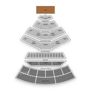 Mann Center for the Performing Arts Seating Chart Theater
