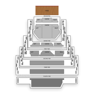 New Jersey Performing Arts Center Seating Chart Classical Orchestral Instrumental