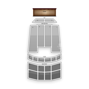 Louisville Palace Seating Chart Theater