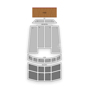 Louisville Palace Seating Chart Comedy