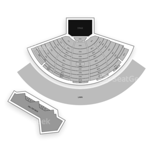 DTE Energy Music Theatre Seating Chart Theater