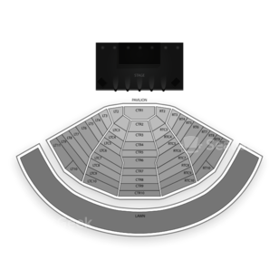 DTE Energy Music Theatre Seating Chart Concert