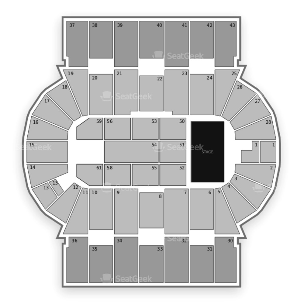 Scotiabank Centre Seating Chart Concert