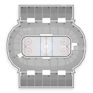 Scotiabank Centre Seating Chart NHL
