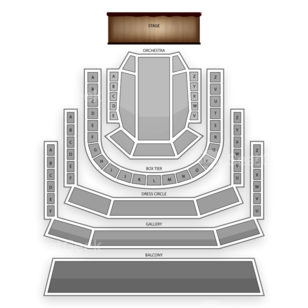 The Smith Center Seating Chart Classical Opera
