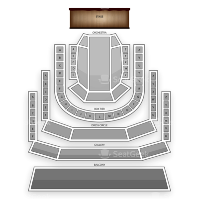 The Smith Center seating chart Cinderella (Theatre)