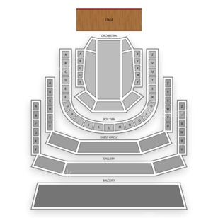 The Smith Center Seating Chart Classical Orchestral Instrumental