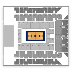 Maryland Terrapins Basketball Seating Chart