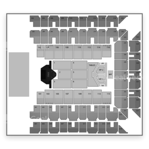 Baltimore Arena Seating Chart Concert