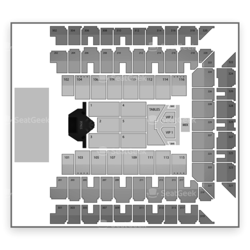 Baltimore Arena Seating Chart