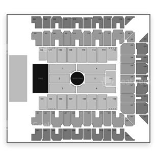 Royal Farms Arena Seating Chart Concert