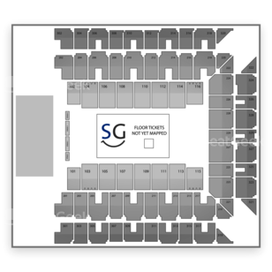 Baltimore Arena Seating Chart MMA