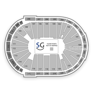 Infinite Energy Arena Duluth Seating Chart Family