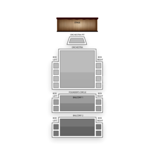 Peace Center Seating Chart Family