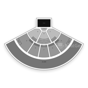 Klipsch Music Center Seating Chart Comedy