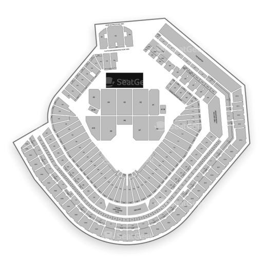 Coors Field Seating Chart Zac Brown Safeco Field Tickets Seating