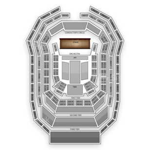Kimmel Center Seating Chart Classical Orchestral Instrumental