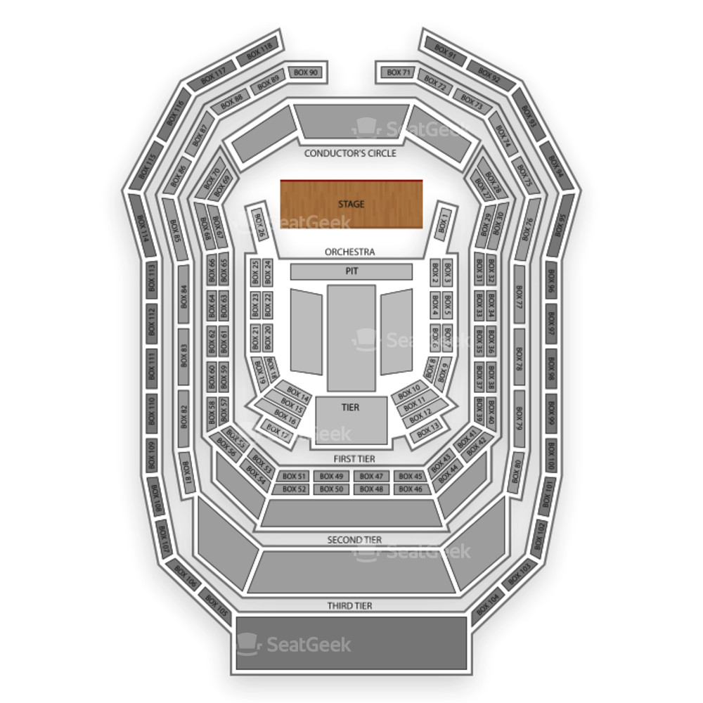 Kimmel Center Seating Chart Theater