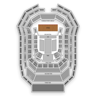 Verizon Hall At The Kimmel Center For The Performing Arts Seating Chart Theater
