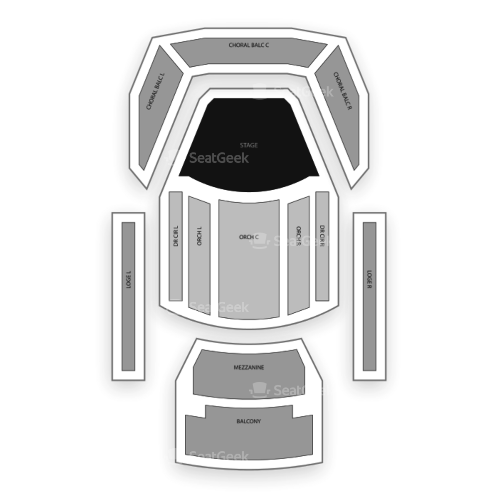 Jemison Concert Hall Seating Chart Concert