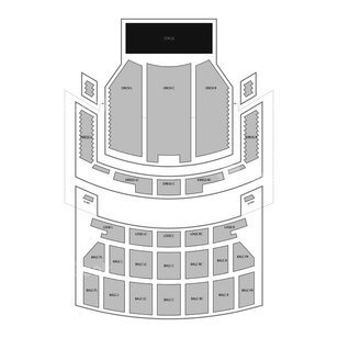 Oriental Theatre Seating Chart Concert