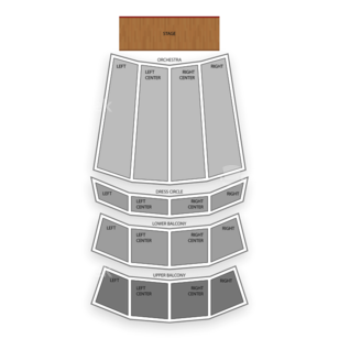 The Orpheum Seating Chart Theater