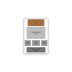 The Fonda Theatre Seating Chart Theater