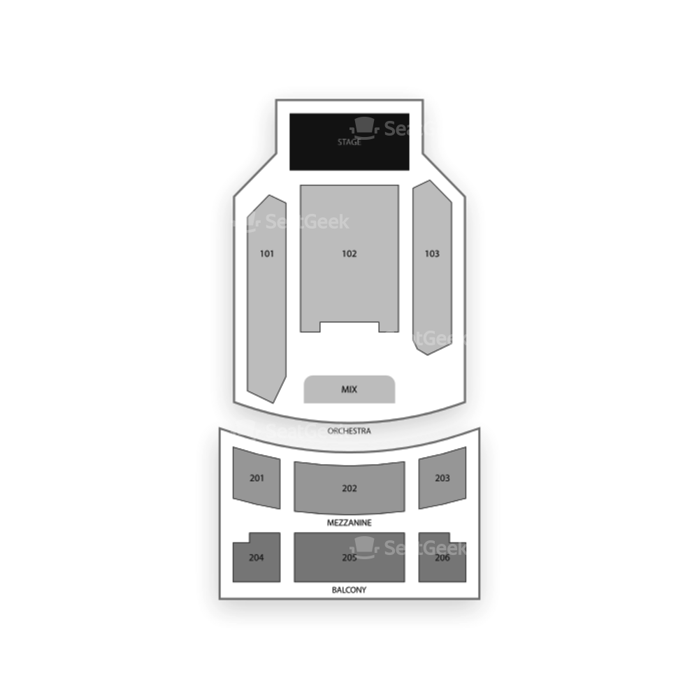 Joy Theater Seating Chart Family