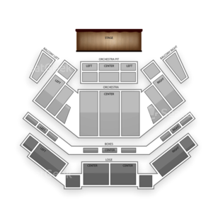 Tilles Center for the Performing Arts Seating Chart Family